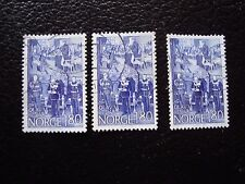NORVEGE - timbre yvert et tellier n° 730 x3 obl (A30) stamp norway (Z)