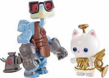 Disney Mattel Pixar Toy Story - Raygon & Angel Kitty Figures(BT78)