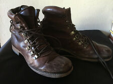 Vintage Shoe Company Mountaineering Style Men Brown  7.5 US Hiking