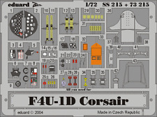 Eduard zoom SS215 1/72 terminal F4U-1 corsair tamiya