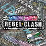 50 x Pokemon Rebel Clash Online Booster Codes PTCGO Sent Quickly!!