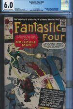 CGC 6.0 FANTASTIC FOUR #20 1ST APPEARANCE OF THE MOLECULE MAN OW/WHITE PAGES