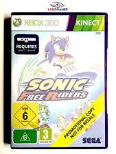 Sonic Free Riders Xbox 360 Kinect Nuevo Precintado Promo Sealed Brand New EUR