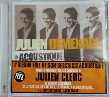 CD JULIEN CLERC - DEMENAGE neuf sous blister