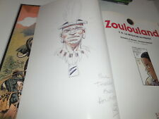 EO ZOULOULAND TOME 8 + DEDICACE/ TBE