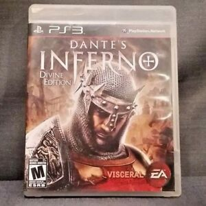 Dante's Inferno Divine Edition (Sony PlayStation 3, 2010) PS3 Video Game