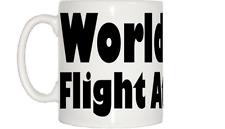 World's Best Flight Attendant Mug