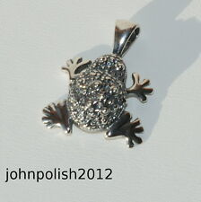 Silver 925 Pendant Frog