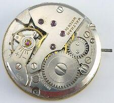 Vintage Waltham Wristwatch Movement - Incabloc - Parts / Repair