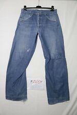 Levi's ENGINEERED 843 usato (Cod.F2689) W32 L34 denim jeans ampio