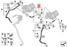 Genuine BMW E70N E71 E72 F01 F02 F03 F03N Heater Return Hose OEM 11537577015
