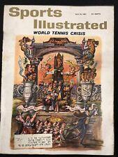 1961 JULY 10 SPORTS ILLUSTRATED *WORLD TENNIS CRISIS* CS5