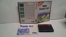 SEGA MASTER SYSTEM  Tennis Ace  JEUX