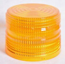 Federal Signal Electra Flash Strobe Warning Light Amber Lens For 141st