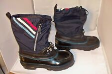 Vintage Women's Sno-Go Felt Insulated Snowmobile Boots SZ 7 Steel Shank Nice!!