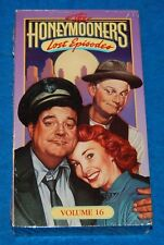 The Honeymooners Lost Episodes Volume 16 VHS Tape, New & Factory Sealed