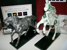 """Coins & Bills - A+Gift Set- Trail of Painted Ponies ~ """"Buckskin & Quarter Horse"""""""