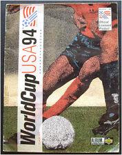 100% COMPLETE UPPER DECK WORLD CUP 1994 USA 94 ALBUM