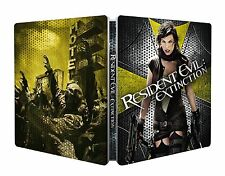 Resident Evil: Extinction  Limited Ed. Steelbook /Import / Region Free Blu Ray