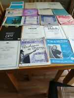 Job Lot Vintage Old piano Sheet Music 20 Total  £10 buy now postage £6