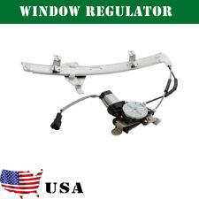 Front Driver Fl Lh Side Window Regulator w/ Motor For Century Regal Intrigue