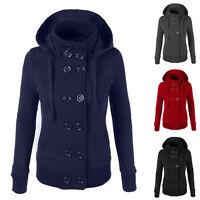 NEW Womens Thicken Warm Winter Coat Hooded Parka Overcoat Jacket Outwear M~2XL
