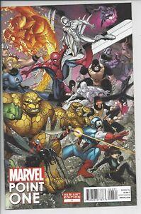 Marvel Point One #1 - F - (9.4) 1st Sam Alexander Nova - Bradshaw Variant