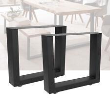 Tischgestell Tischkufen Tischbeine Loft Couchtisch Metall Tischkuven 2X