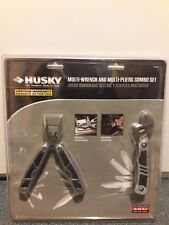 HUSKY Multi-Wrench and Multi-Pliers Combo Set-Brand New
