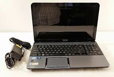 "Toshiba Satellite S855-S5254 i7-3610QM 2.30GHz 750GB HDD 8GB RAM 15.6"" Win10"