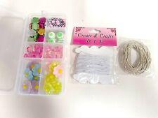 Bead Kits Jewelry Colorful Jewelry Kit Craft Make for Girls Teen Children Craft