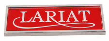 1978-1979 FORD TRUCK LARIAT COWL SIDE NAMEPLATE - PART# D8TZ-16720-C