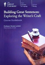 Great Courses BUILDING GREAT SENTENCES: EXPLORING THE WRITER'S CRAFT 12 CD #2368