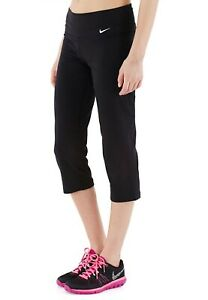 New Nike Womens Training Capri Leggings Legend 2.0 Slim Dri-FIT Athletic Cotton