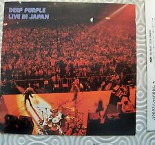 "DEEP PURPLE ""LIVE IN JAPAN"" RARE CD JAPANESE EDITION 20P2-26026 LYRICS & OBI WEA"
