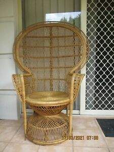 Beautiful Vintage Peacock Chair - P/up Strathfield NSW