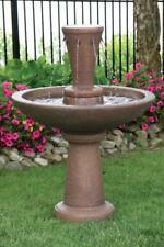 """43"""" Falling Waters Fountain - Outdoor Concrete Garden Water Fountain Statue"""