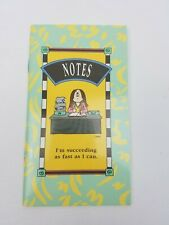 Vintage 1992 Cathy Guisewite Notes Book Note Pad Im Suceeding As Fast As I Can