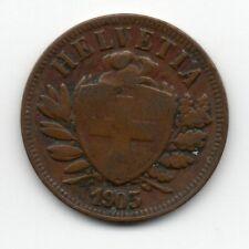Switzerland - Zwitserland - 2 Rappen 1903