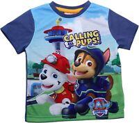 Paw Patrol Boys Pups Calling Short Sleeve T Shirt