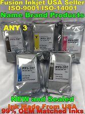 Any3 pc PFI-107 ink cartridge for canon ipf 670 680 685 770 780 785 pfi 107 xc