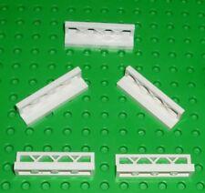 LEGO 20 X des clôtures clôture grille 1x4x2 en rouge 3185 Town City ville