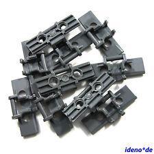 LEGO Technik 10 X maillons de la chaîne grande nouveauté gris foncé 57518 42006