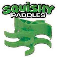 TechT Squishy Paddles - Original Design [Cyclone Feed Hoppers] - Green