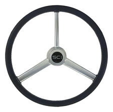 """Exclusive Steering Wheel """"Retro Leather"""" for PB,KW,FL,Mack,Volvo,GM,Ford,Hino"""