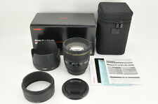 *NEAR MINT in BOX* Sigma EX 85mm f/1.4 DG HSM Lens for Canon from Japan #0895