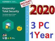 Antivirus KASPERSKY Total Security 2020.  3 Pc 1 Year  ⚡ WorldWide  ⚡ Win ⚡