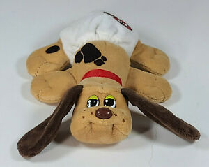 """Newborn Light Brown Pound Puppies Plush 8"""" Dog With Diaper Long Ears"""