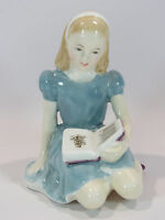 Vintage Royal Doulton China Alice in Wonderland Figurine HN 2158 Crack Repair