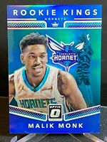 2017-18 Donruss Optic Rookie Kings Blue #11 Malik Monk /85 RC